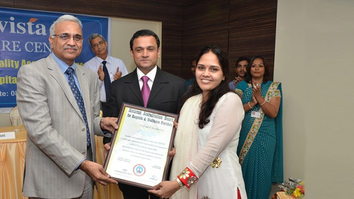 Evista Eye Care Accredited with NABH
